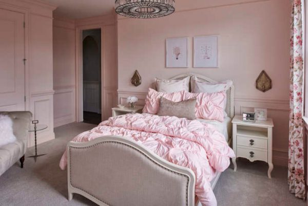 bedroom decorating ideas and designs Remodels Photos Tina Marie Interior Design Lake Mary Florida United States transitional-bedroom