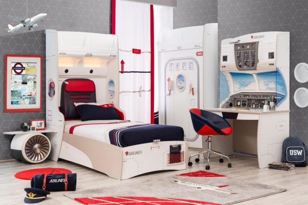 bedroom decorating ideas and designs Remodels Photos Turbo Beds Hallandale Beach Florida United States modern-kids