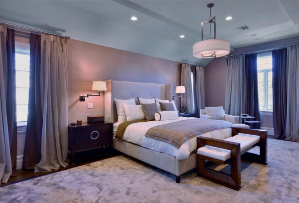bedroom decorating ideas and designs Remodels Photos Twice As Nice Interiors East Islip New York United States modern-bedroom