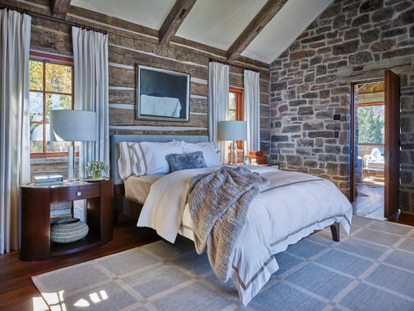 bedroom decorating ideas and designs Remodels Photos WRJ Design Jackson Wyoming United States bedroom