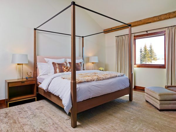 bedroom decorating ideas and designs Remodels Photos WRJ Design Jackson Wyoming United States contemporary-bedroom-005