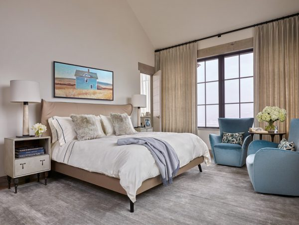 bedroom decorating ideas and designs Remodels Photos WRJ Design Jackson Wyoming United States transitional-bedroom