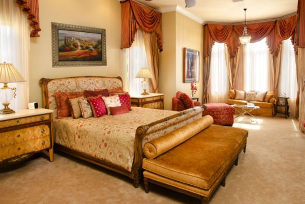 bedroom decorating ideas and designs Remodels Photos Weiss Design Group, Inc.Fort Lauderdale Florida United States mediterranean-bedroom-001