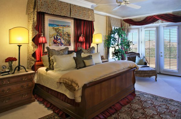 bedroom decorating ideas and designs Remodels Photos Wendy Black Rodgers Interiors scottsdale Arizona United States traditional-bedroom