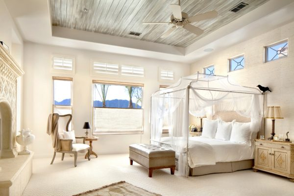 bedroom decorating ideas and designs Remodels Photos Willetts Design & Associates Palm Springs California United States mediterranean-bedroom
