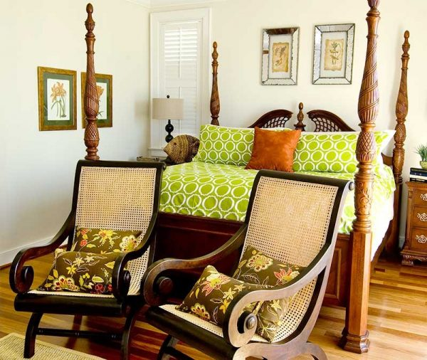 bedroom decorating ideas and designs Remodels Photos Zimmerman Interiors Mount Pleasant South Carolina United States tropical-bedroom