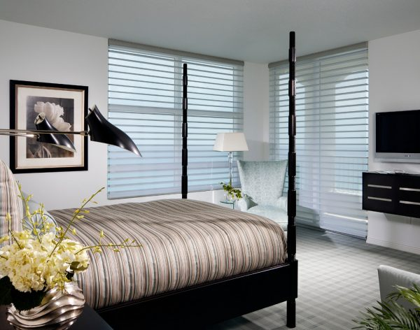 bedroom decorating ideas and designs Remodels Photos nls creations, inc. Highland Beach Florida United States contemporary-bedroom-002