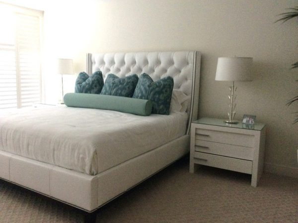 bedroom decorating ideas and designs Remodels Photos nls creations, inc. Highland Beach Florida United States contemporary-bedroom
