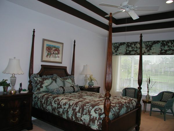 bedroom decorating ideas and designs Remodels Photos nls creations, inc. Highland Beach Florida United States eclectic-bedroom