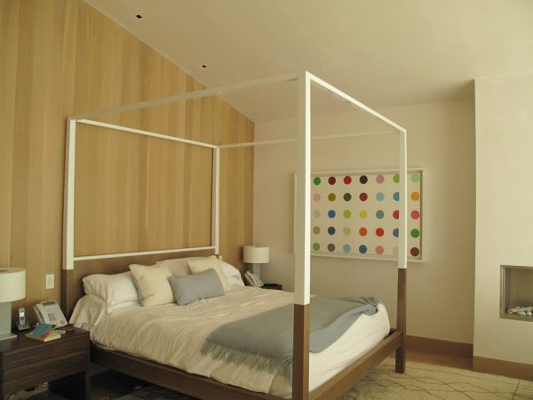 bedroom decorating ideas and designs Remodels Photos rice paddies interiors LosAngeles California United States contemporary-bedroom