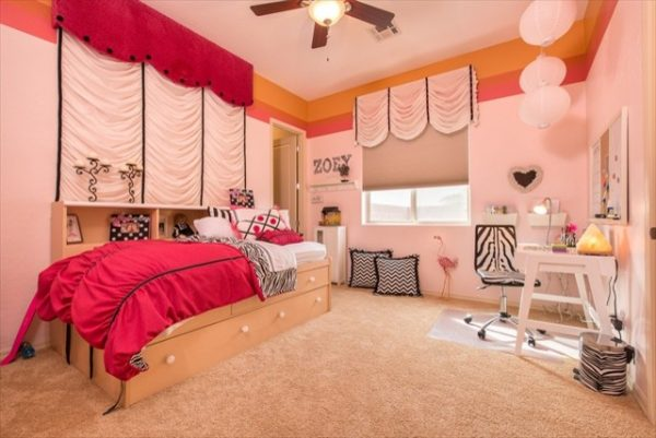 bedroom decorating ideas and designs Remodels Photo Arrange Interior Design St. George Utah United States contemporary-kids-001