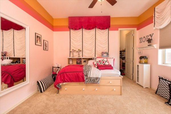 bedroom decorating ideas and designs Remodels Photo Arrange Interior Design St. George Utah United States contemporary-kids