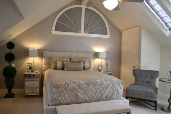 bedroom decorating ideas and designs Remodels Photo Debra Kay George Interiors San Jose California United States contemporary-bedroom