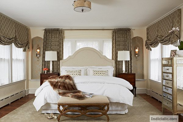 bedroom decorating ideas and designs Remodels Photo Indicia Interior Design Saint Paul Minnesota United States transitional