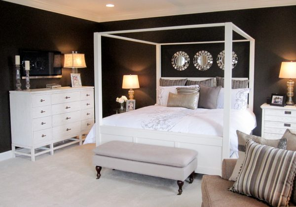 bedroom decorating ideas and designs Remodels Photo Interior Concepts, Inc. Annapolis Maryland United States contemporary-bedroom-001
