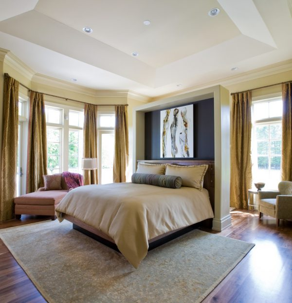 bedroom decorating ideas and designs Remodels Photo Interior Concepts, Inc. Annapolis Maryland United States contemporary-bedroom