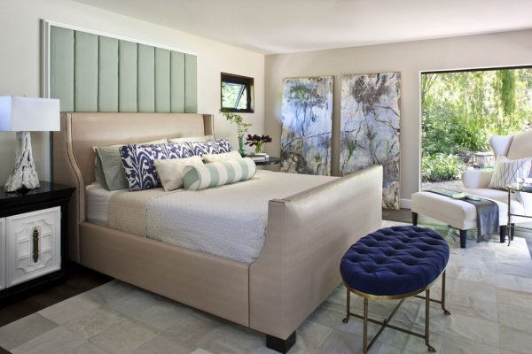 bedroom decorating ideas and designs Remodels Photo Jeneration Interiors Los Angeles California United States transitional-bedroom-001