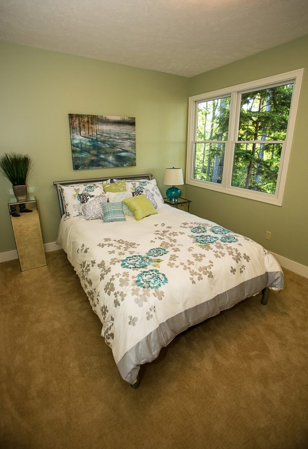 bedroom decorating ideas and designs Remodels Photo New Leaf Interiors Traverse City Michigan United States transitional-bedroom-001