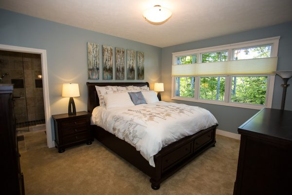 bedroom decorating ideas and designs Remodels Photo New Leaf Interiors Traverse City Michigan United States transitional-bedroom