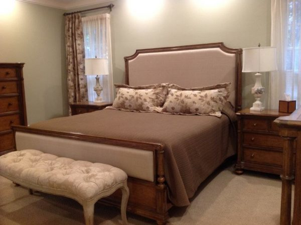 bedroom decorating ideas and designs Remodels Photo Roberta Frank Designs Inc. Apex North Carolina United States traditional-bedroom