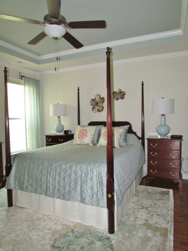 bedroom decorating ideas and designs Remodels Photo Roberta Frank Designs Inc. Apex North Carolina United States transitional-bedroom-002