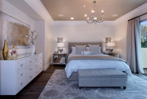 bedroom decorating ideas and designs Remodels Photos 27 Diamonds Interior Design Westminster California United States contemporary-bedroom-003