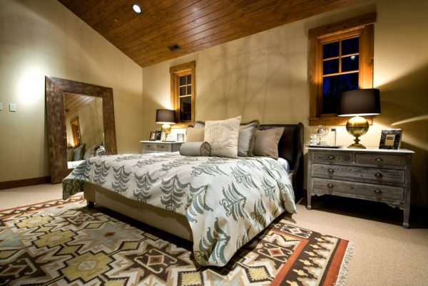 bedroom decorating ideas and designs Remodels Photos Alder and Tweed Park City Utah United States contemporary-bedroom-001