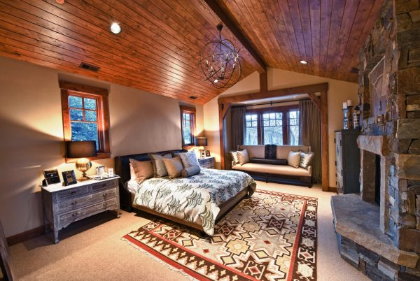 bedroom decorating ideas and designs Remodels Photos Alder and Tweed Park City Utah United States contemporary-bedroom
