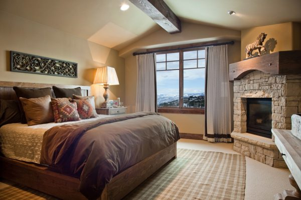 bedroom decorating ideas and designs Remodels Photos Alder and Tweed Park City Utah United States traditional-bedroom