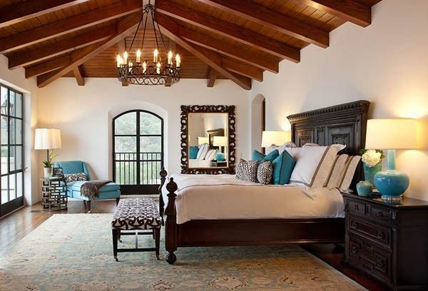 bedroom decorating ideas and designs Remodels Photos Cabana Home Santa Barbara California United States mediterranean-bedroom-001