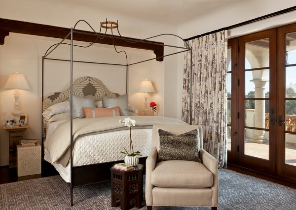 bedroom decorating ideas and designs Remodels Photos Cabana Home Santa Barbara California United States mediterranean-bedroom-002