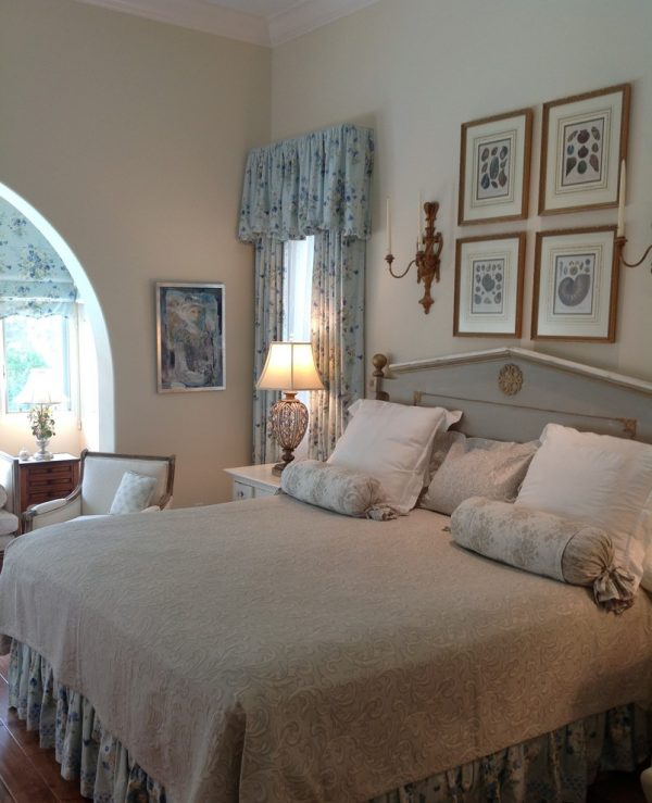 bedroom decorating ideas and designs Remodels Photos Cathleen B. Swift Design, LLC Estero Florida United States traditional-bedroom
