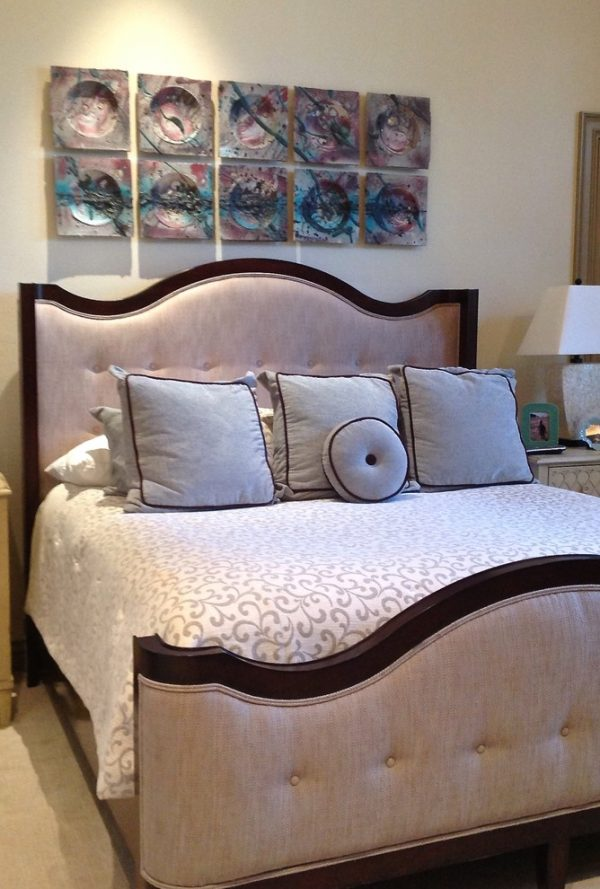 bedroom decorating ideas and designs Remodels Photos Cathleen B. Swift Design, LLC Estero Florida United States transitional-bedroom-001