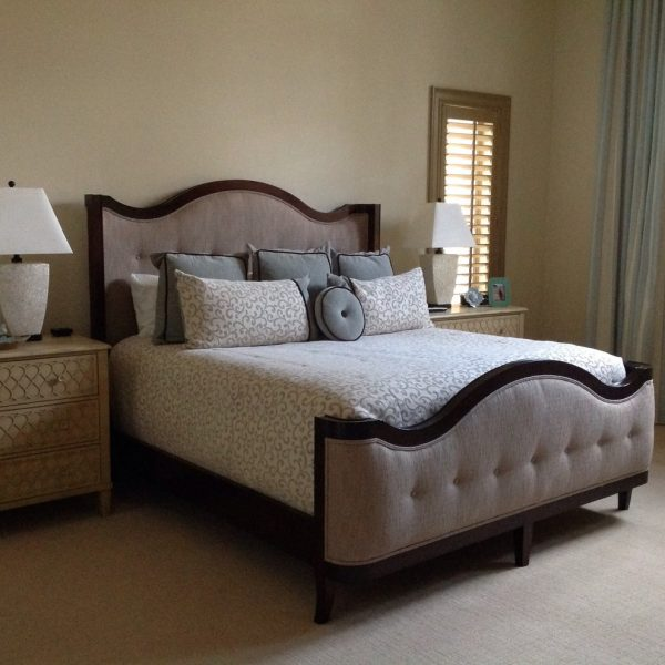 bedroom decorating ideas and designs Remodels Photos Cathleen B. Swift Design, LLC Estero Florida United States transitional-bedroom-002