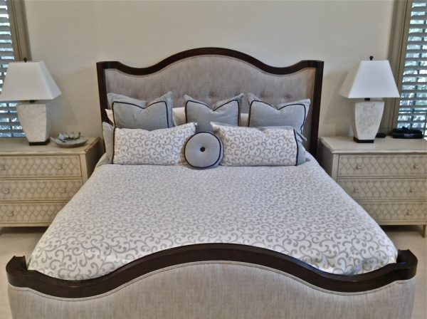 bedroom decorating ideas and designs Remodels Photos Cathleen B. Swift Design, LLC Estero Florida United States transitional-bedroom-003