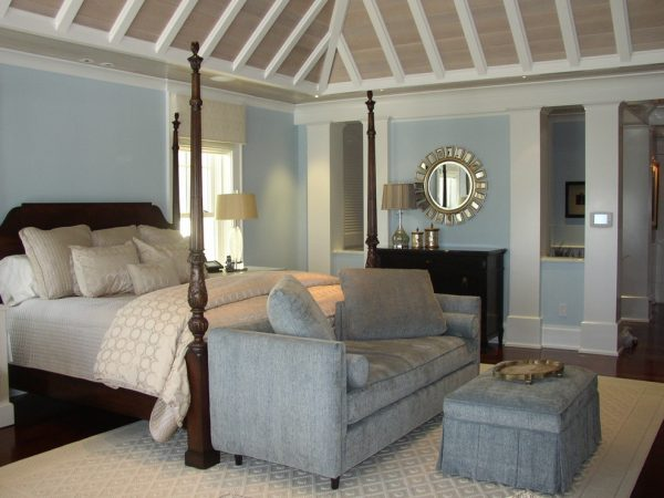 bedroom decorating ideas and designs Remodels Photos Debra J Stein Boynton Beach Florida United States beach-style-bedroom