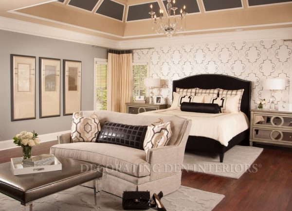 bedroom decorating ideas and designs Remodels Photos Decorating Den Interiors Norman Oklahoma United States bedroom
