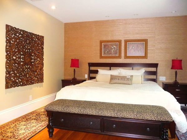bedroom decorating ideas and designs Remodels Photos Denyne Designs Dunstable Massachusetts United States asian-bedroom