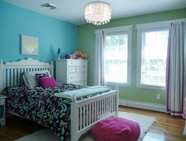 bedroom decorating ideas and designs Remodels Photos Denyne Designs Dunstable Massachusetts United States eclectic-kids-001