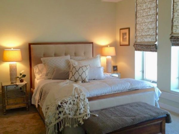 bedroom decorating ideas and designs Remodels Photos Durpetti Interiors Chicago Illinois United States transitional