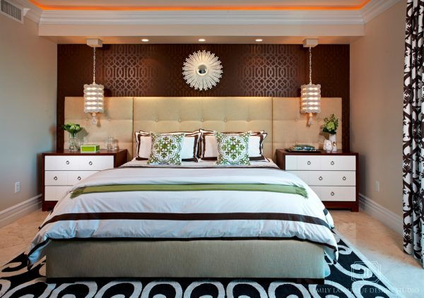 bedroom decorating ideas and designs Remodels Photos Emily LaMarque Design Studio West Hollywood California United States contemporary-bedroom-005