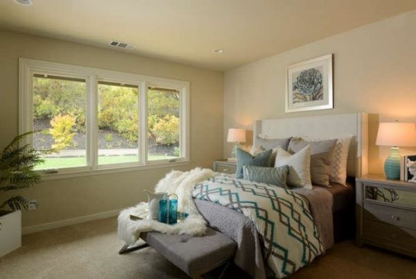 bedroom decorating ideas and designs Remodels Photos Envy Decor LLC San Jose California United States contemporary