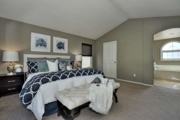 bedroom decorating ideas and designs Remodels Photos Envy Decor LLC San Jose California United States transitional-001