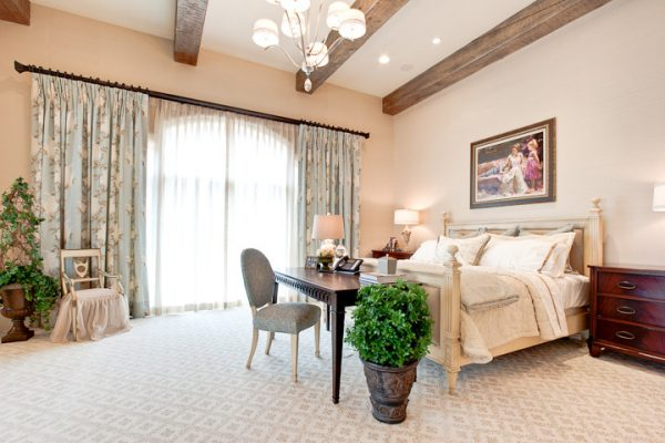 bedroom decorating ideas and designs Remodels Photos Fowler Interiors greenville South Carolina South Carolina United States traditional-bedroom-001