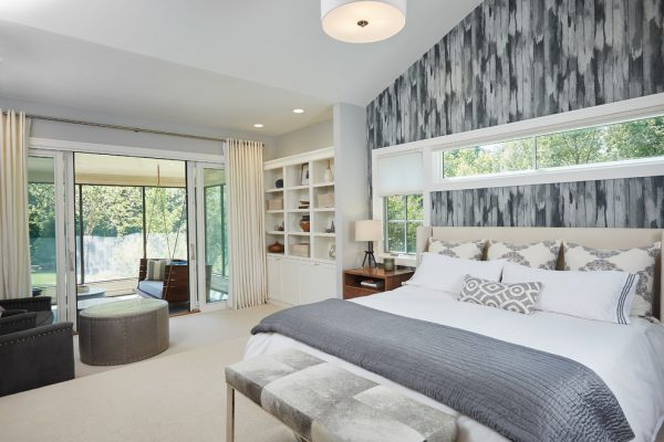 bedroom decorating ideas and designs Remodels Photos Francesca Owings Interior Design Grand Rapids Michigan United States contemporary-bedroom-001