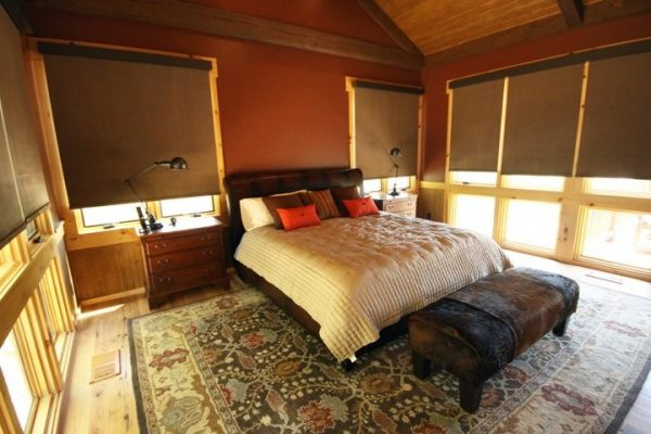 bedroom decorating ideas and designs Remodels Photos Holden Design Group O'Fallon Illinois United States rustic-bedroom