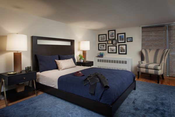 bedroom decorating ideas and designs Remodels Photos Hubley Design Interiors, LLC New York New York United States rustic-bedroom