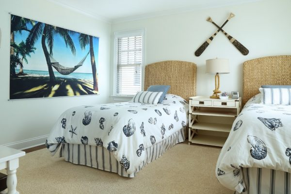 bedroom decorating ideas and designs Remodels Photos Jodie O Designs Whippany New Jersey United States beach-style-bedroom