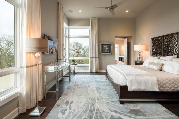 bedroom decorating ideas and designs Remodels Photos John-William Interiors Austin Texas United States contemporary