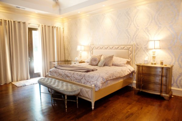 bedroom decorating ideas and designs Remodels Photos KMH Designs Marietta Georgia United States transitional-bedroom